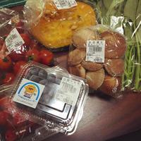 ひもかわうどんと野菜色々。 - うさまっこブログ