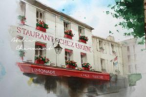 夏の宿題 - Atelier Charmant のボタニカル・水彩画ライフ
