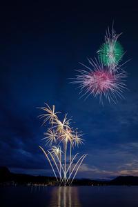 今年最初の花火大会 - アオイソラ