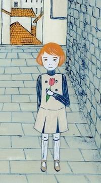 むぎわら  〜小田原のパン屋さん - たなかきょおこ-旅する絵描きの絵日記/Kyoko Tanaka Illustrated Diary