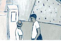 すっかり小麦色 - たなかきょおこ-旅する絵描きの絵日記/Kyoko Tanaka Illustrated Diary