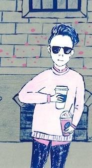 かき氷マニア - たなかきょおこ-旅する絵描きの絵日記/Kyoko Tanaka Illustrated Diary