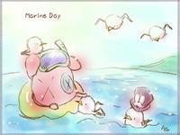 海を想えば ちょっとは涼しく… - アコネスのおもちゃ箱 ぽつぽつ更新ブログ