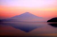 29年7月の富士(8)山中湖の富士 - 富士への散歩道 ~撮影記~
