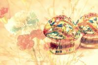 キノコの飾り物の物撮り - 想い出