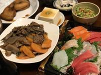休日夜のウチ飯は「お刺身の詰め合わせ」o(^▽^)o - よく飲むオバチャン☆本日のメニュー