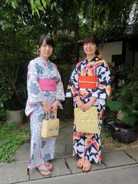 浴衣の柄と帯の色を合わされて。 - 京都嵐山 着物レンタル&着付け「遊月」