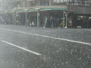 雹害。。。 - 工作日報 川ロ車両製作所