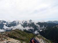 常念山頂のイワヒバリ - 今日の鳥さん+α(初心者野鳥写真集)