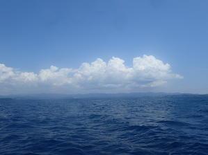 梅雨明けと共に青い海が到来ヽ(*゚∀゚*)ノ -