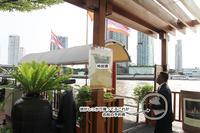 【父と姉妹とタイ旅行】 シャングリ・ラ ホテルから、アジアティーク・ザ・リバーフロントへ専用ボートで。  - ツルカメ DAYS