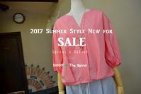 """2017 Summer Style New for Sale!... 7/19wed"" - SHOP ◆ The Spiralという館~カフェとインポート雑貨のある次世代型セレクトショップ~"