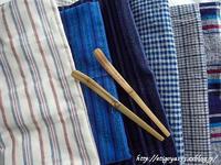 手織り木綿の肌触りに惹かれる - 丁寧な生活をゆっくりと2