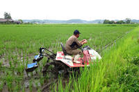 乗用田植機用溝切機PDS-2YRの撮影 (宮城県) - 【美善ブログ】もっとご飯を食べよう。