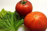 トマトとしその和風マリネ - 貧乏なりに食べ歩く
