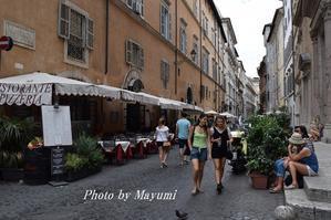 ローマの古き良き地区、コッペレ♪ - ローマより愛をこめて