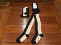 "WOLF&RITA  ""TIGHTS-Black stripe""  【WR17aw039-03】 - LOB SHOP"