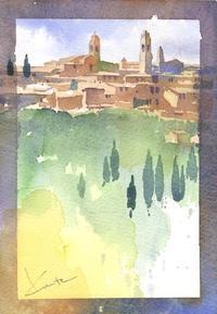 小作品 - はるさき水彩画blog