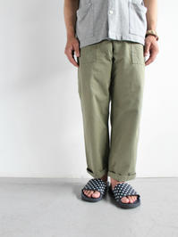 ARAN FATIGUE PANTS - 『Bumpkins putting on airs』