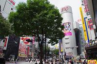 7月18日(火)の109前交差点 - でじたる渋谷NEWS