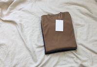 crepuscule Silk/Cotton S/S Knit Tee - Lapel/Blog