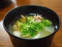 豚汁とゴボウのから揚げ - sobu 2