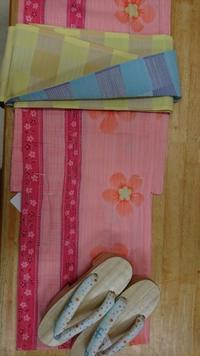 ピンクの洋服っぽい柄のゆかた - たんす屋新小岩店ブログ