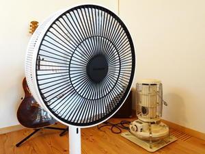 扇風機だけで乗り切る  BALMUDA The GreenFan - 小さく始める小さな家