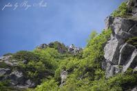 宝剣岳を見上げる - Ryu Aida's Photo