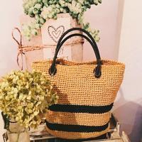 手作り麻バッグ - **Le petit cadeau **     handmade & life