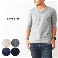 ENTRY SG[エントリーセスジー] HALO5【T161UB5】 5分丈袖UネックTシャツ [MEN'S] - refalt   ...   kamp temps