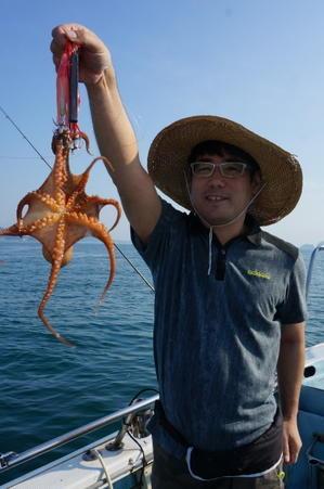 20日・木・ナイス!! 涼しいのはOKですが・・・・・。(^▽^) - 愛媛・松山・伊予灘・高速遊漁船 pilarⅢ 海人 本日の釣果