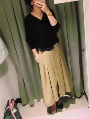 『コワイ』と言われ【バーゲンでフンワリを買う】バーゲン戦利品◆2017年7月 - 服とワタシとモロモロ.now & then 40's