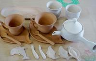 ■趣味の陶芸 【素焼きが無事に仕上がって来ました。】/雷と共にゲリラ氷が落ちて来た!! - 「料理と趣味の部屋」