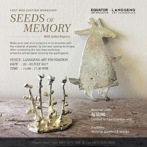 """インドネシア・ジョグジャカルタで展覧会:""""Seeds of Memory: Japanese Artists in Yogyakarta"""" - exblog ガドガド"""