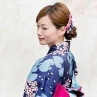 花火大会の着付けとヘアセット - HAIR SALON BOUQUET blog