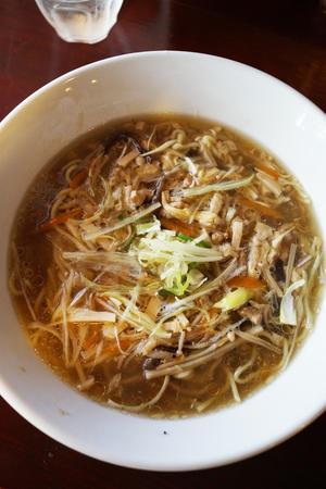 酸っぱくて辛ぁ~~~い そして美味しい花蓮の酸辣湯麺 -