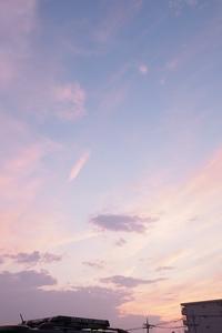 夏の夕暮れ - カメラとさんぽ
