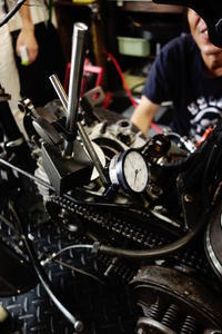 1946WR750 コンロッド・ビッグエンドベアリング&スモールエンドブッシュ - Vintage motorcycle study
