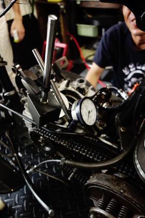 Vintage motorcycle study