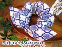 うさ耳シュシュ - hand made *sakura sakura*