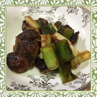 鶏もも肉と長ねぎの甘辛炒め(レシピ付) - kajuの■今日のお料理・簡単レシピ■