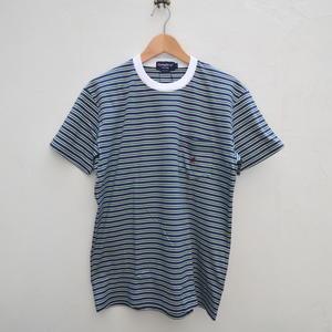 メンズのマルチボーダーTシャツ - dia grande by MOUNT BLUE