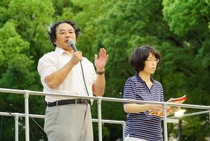 7月19日デモを行いました。 - 安倍内閣の暴走を止めよう共同行動