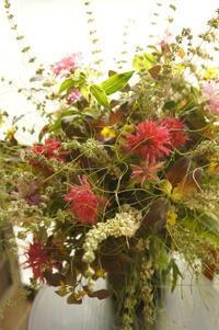 ベルガモットの夏のブーケ - Groseille グロゼイユ~四季のお庭とぼちぼちお花活動~