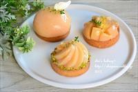 桃のタルトレット - *sheipann cafe*