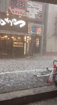 この季節に、東京で「雹(ひょう)」とは!。 - 漫画家 原口清志のブログ