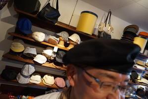 本日のお客様 帽子に負けないように - 帽子のベルデ日記