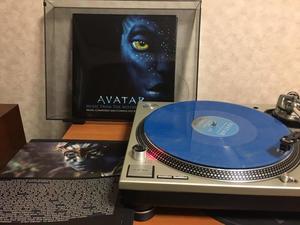 忘れたころに「アバター」のサントラ・レコード届いた。 - Suzuki-Riの道楽
