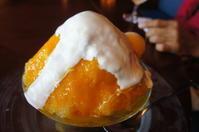 ホテル・ルイガンスで、今年初の「かき氷」を食す。 - ヤスコヴィッチのぽれぽれBLOG